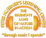 Peter Hübner - The Harmony Laws of Nature in Action
